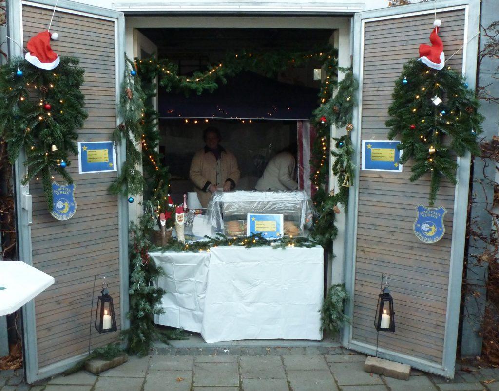Unser Stand auf dem Weihnachtsmarkt am Dorftreff